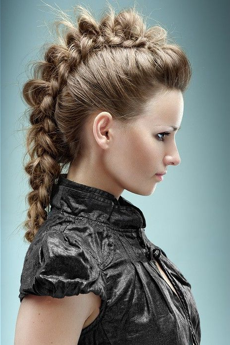 Festival Hair – Long Brown Straight Hair Styles (21436 Intended For Long Straight Hair Mohawk Hairstyles (View 6 of 25)
