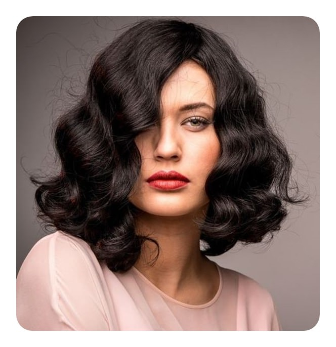 Finger Waves Hairstyle Inspirations For The Today's Classic with regard to Simple Loose Black Waves Hairstyles