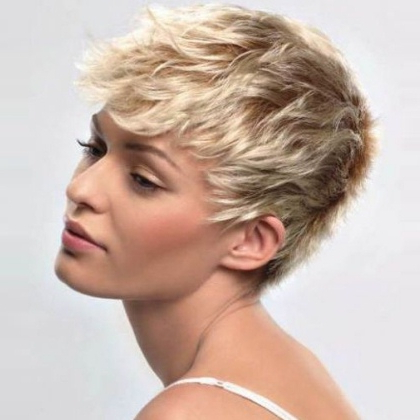 Five Glamorous Short Hairstyles – Different Short Hair Inside Glamorous Pixie Hairstyles (View 24 of 25)