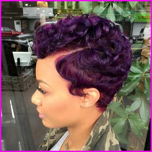 For Black Women – Curly Pixie & Mohawk | Short Hair Styles Regarding Pixie Mohawk Haircuts For Curly Hair (View 14 of 25)
