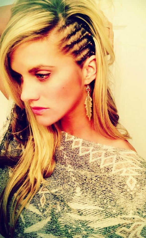 Girls Side Braids - Google Search … | Hair Styles, Hair intended for Mermaid Waves Hairstyles With Side Cornrows