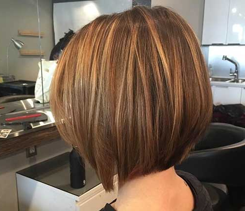 Gorgeous Highlights For Short Hair | Short Hairstyles Pertaining To Highlighted Short Bob Haircuts (View 12 of 25)