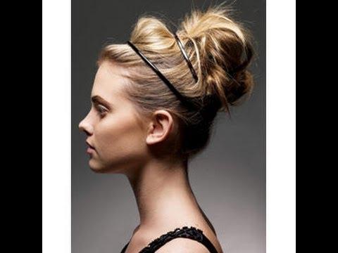 High Elegant Messy Bun Intended For Elegant High Bouffant Bun Hairstyles (View 18 of 25)