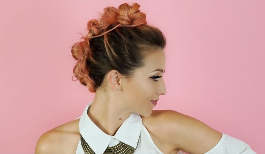 How To Do Bun Mohawk + Top 3 Styling Ideas Within Mohawk Updo Hairstyles For Women (View 22 of 25)