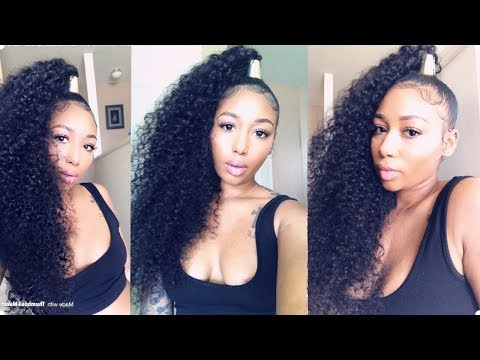 How To Slay A High Ponytail Using Bundle Hair| Ft (View 19 of 25)