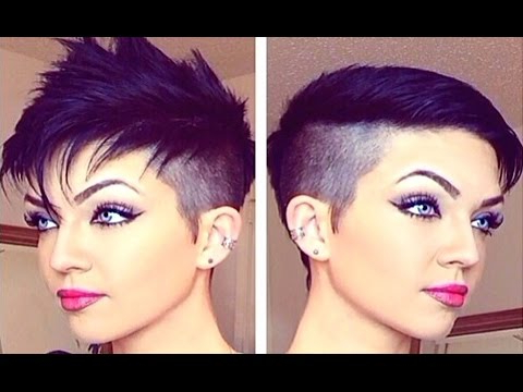 How To Style A Pixie Cut And Fauxhawk Within Pixie Faux Hawk Haircuts (View 24 of 25)