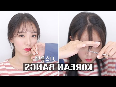 "Korean ""see Through"" Bangs Tutorial 
