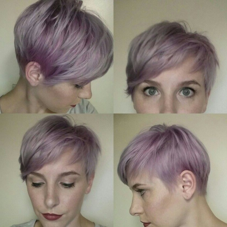 Lavender Pixie | Purple Pixie | Courtesy Of Tasha Eash For Icy Purple Mohawk Hairstyles With Shaved Sides (View 15 of 25)