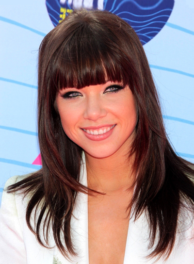 Layered Hairstyles With Bangs – Beauty Riot Pertaining To Long Straight Layered Hairstyles With Fringes (View 9 of 25)