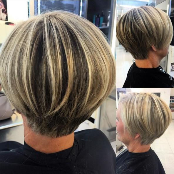Layered Short Bob Hair Cuts – Popular Haircuts With Layered Short Bob Haircuts (View 5 of 25)