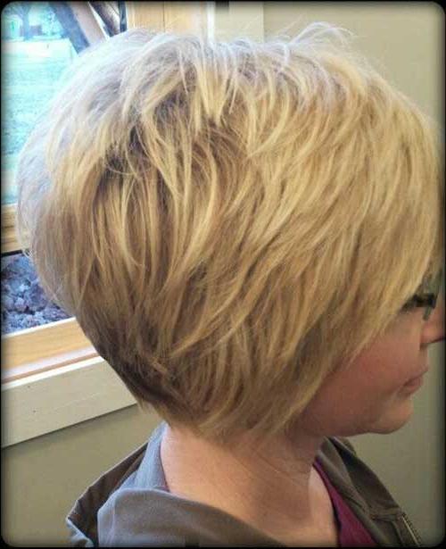 Layered Short Haircuts You Will Love Inside Layered Short Bob Haircuts (View 8 of 25)