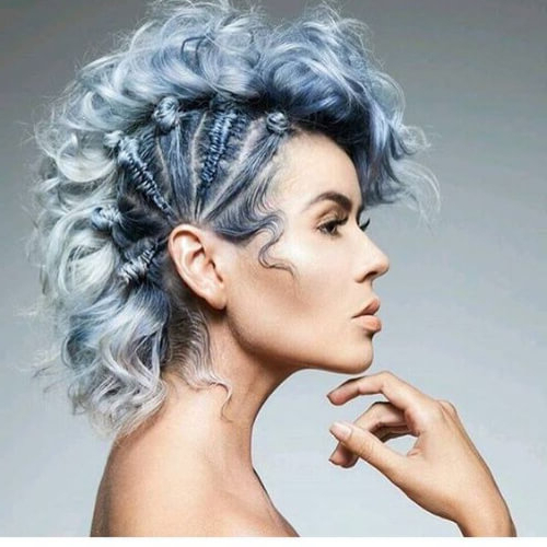 Learn How To Sport A Curly Mohawk: 50 Sweet Ideas   Hair Inside Messy Curly Mohawk Haircuts (View 14 of 25)
