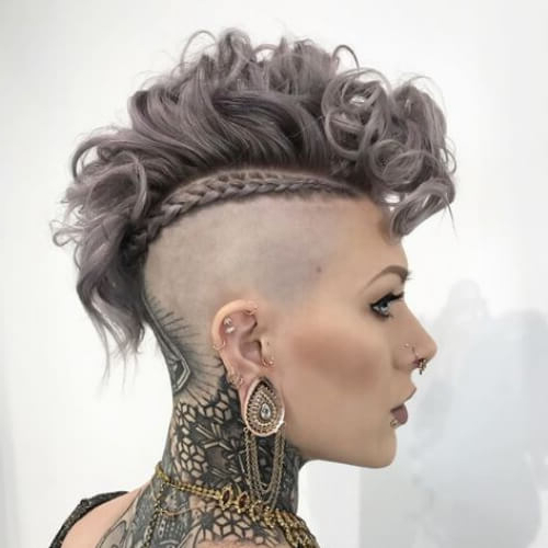 Learn How To Sport A Curly Mohawk: 50 Sweet Ideas   Hair Intended For Messy Curly Mohawk Haircuts (View 20 of 25)