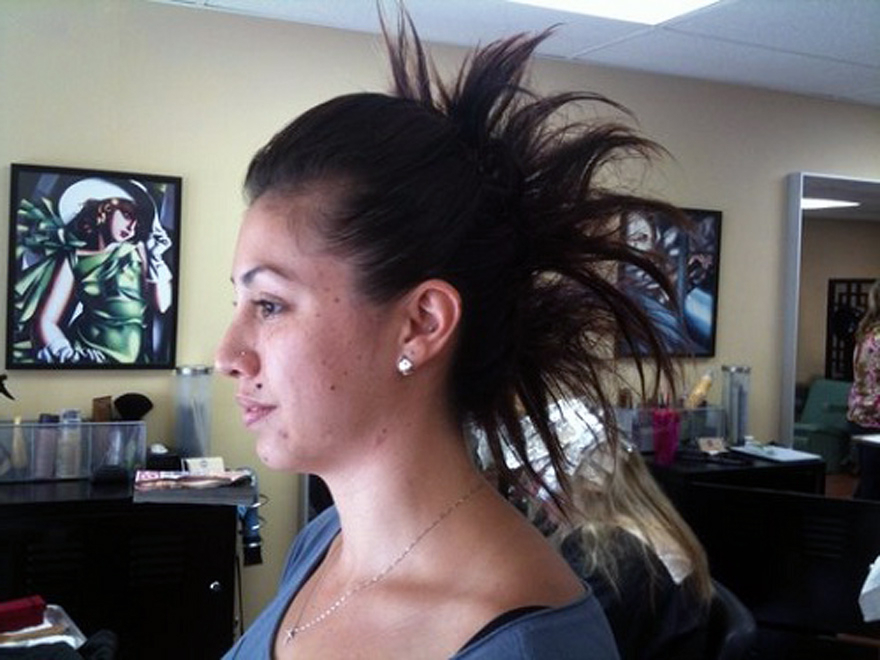 Long Hair Mohawk Updos Ideas – Inofashionstyle With Regard To Punk Mohawk Updo Hairstyles (View 13 of 25)