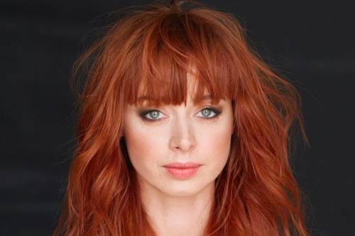 Long Shag Haircuts: 36 Examples For 2019 Within Medium Length Red Hairstyles With Fringes (View 11 of 25)