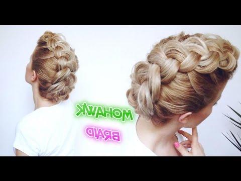 Medium Short Hair Hairstyle Mohawk Braid | Awesome Hairstyles Within Medium Length Hair Mohawk Hairstyles (View 17 of 25)