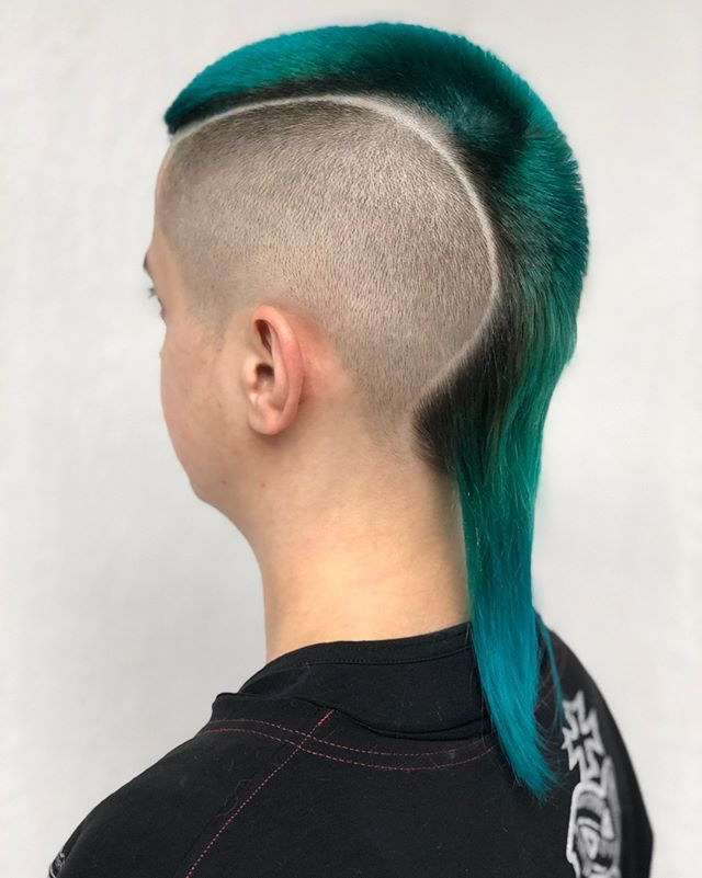 Men's Hair, Haircuts, Fade Haircuts, Short, Medium, Long Pertaining To Turquoise Side Parted Mohawk Hairstyles (View 14 of 25)