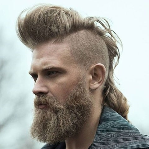 Men's Mohawk 101: How To, Maintain & Style Like A Pro For Long Hair Mohawk Hairstyles With Shaved Sides (View 9 of 25)