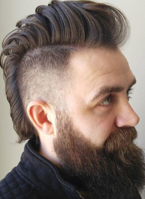 Men's Mohawk 101: How To, Maintain & Style Like A Pro Throughout Messy Curly Mohawk Haircuts (View 16 of 25)