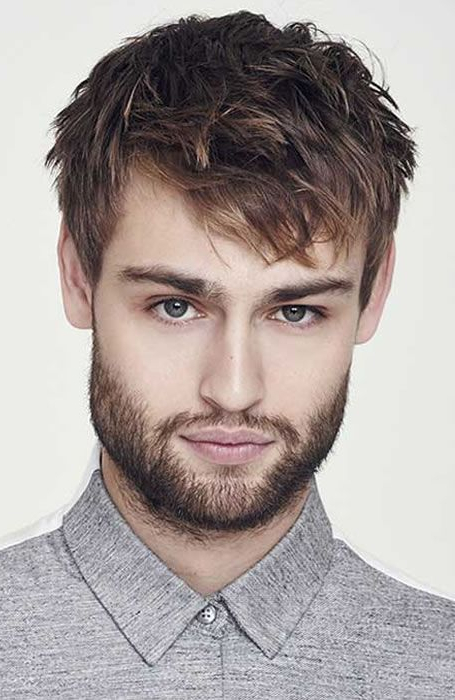 Men's Textured Angular Fringe Hairstyle In 2019 | Gents Hair Intended For Angular Updo Hairstyles With Waves And Texture (View 8 of 25)