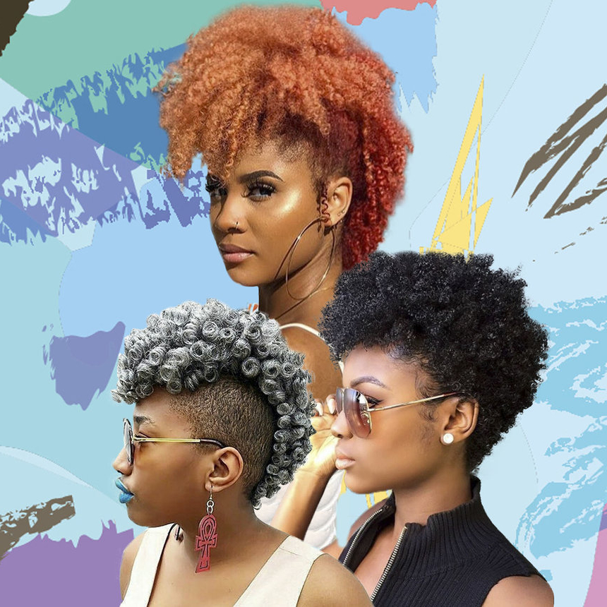Mohawk Hairstyles For Natural Hair – Essence For Black & Red Curls Mohawk Hairstyles (View 16 of 25)