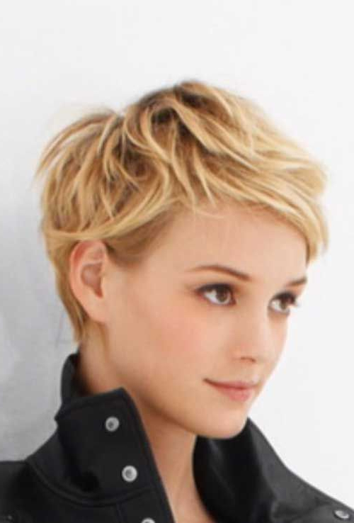 Most Lovable Cute And Short Pixie Haircuts | Hair | Hair Intended For Blonde Pixie Haircuts With Curly Bangs (View 12 of 25)