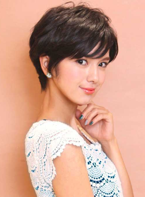 Most Lovely Asian Pixie Cut Pics Inside Textured Pixie Asian Hairstyles (View 7 of 25)