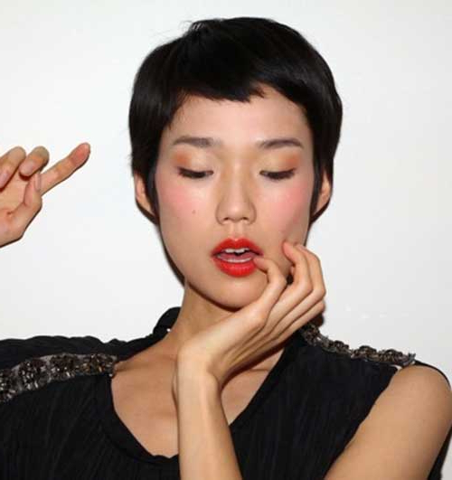 Most Lovely Asian Pixie Cut Pics With Regard To Textured Pixie Asian Hairstyles (View 12 of 25)