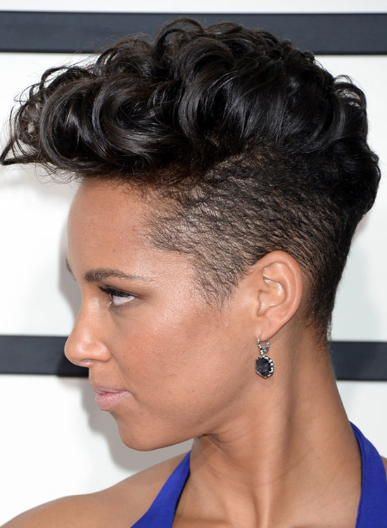 Most Popular Trendy Hairstyles To Try Out In 2019 For Long Luscious Mohawk Haircuts For Curly Hair (View 10 of 25)