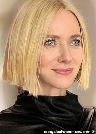 Naomi Watts, 50, Unveils Her Glamorous New Look As She Gets With Glam Blonde Bob Haircuts (View 19 of 25)