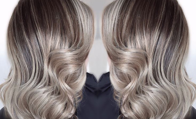 New Hairstyle In 2017 – Ash Blonde And Silver Ombre Hair Pertaining To Ash Bronde Ombre Hairstyles (View 9 of 25)