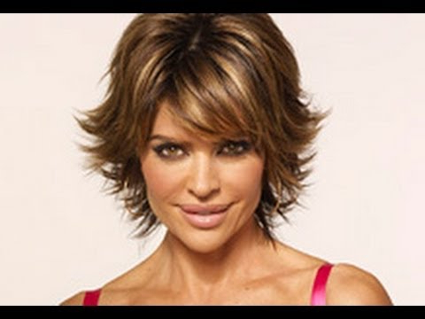 (Part 1 Of 2) How To Cut And Style Your Hair Like Lisa Rinna Haircut Hairstyle Tutorial Layered Shag Within Layered And Outward Feathered Bob Hairstyles With Bangs (View 25 of 25)