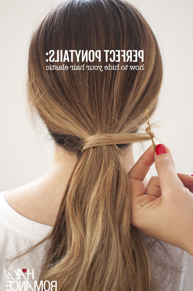 Perfect Ponytails – How To Use A Hair Bungee And Hide Your Intended For High Looped Ponytail Hairstyles With Hair Wrap (View 10 of 25)