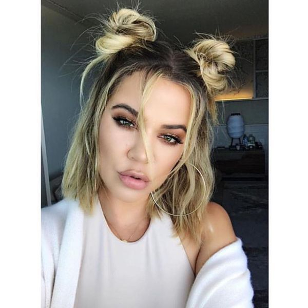 Pigtail Bun Inspiration For Every Hair Type | Short Hair with Cute Bob Hairstyles With Bun