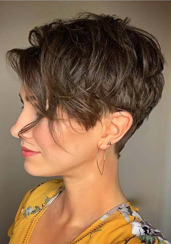 Pin On Bangs Inside Bold Pixie Haircuts (View 12 of 25)