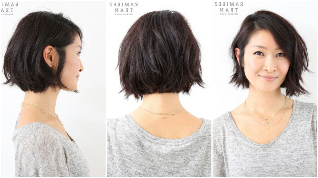 Pin On Beauty Hair Cuts Within Asymmetrical Bob Asian Hairstyles (View 4 of 25)