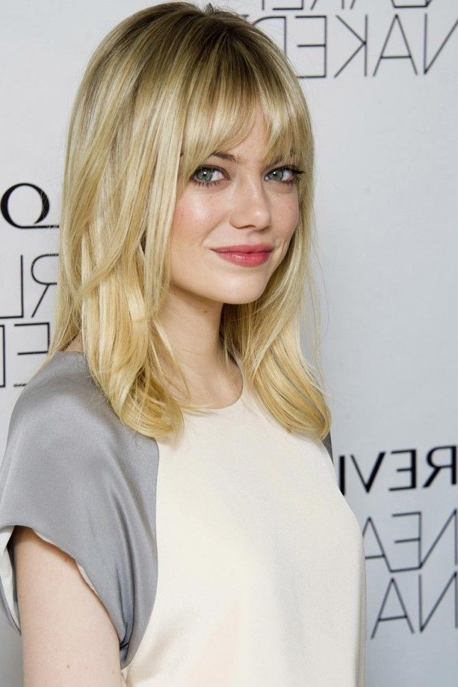 Pin On Beauty Regarding Long Straight Layered Hairstyles With Fringes (View 4 of 25)