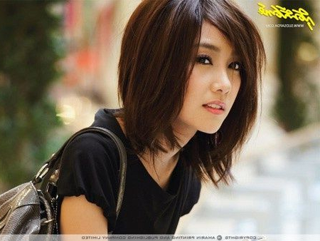 Pin On Beauty within Asian Medium Hairstyles With Textured Waves