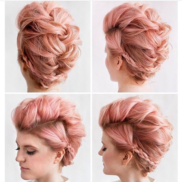 Pin On Best Hair Styles, Color And Cuts with regard to Teased Long Hair Mohawk Hairstyles