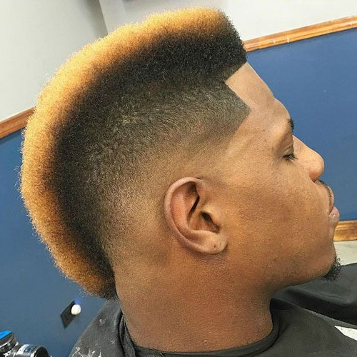 Pin On Black Men Haircuts Intended For Mohawk Haircuts With Curls For A Feathered Bird (View 14 of 25)