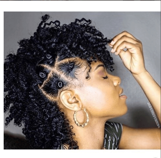 Pin On Black&natural for Blonde Teased Mohawk Hairstyles