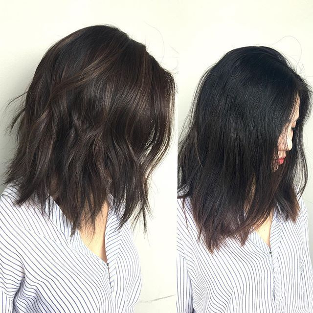 Pin On Cabello Within Asian Medium Hairstyles With Textured Waves (View 20 of 25)