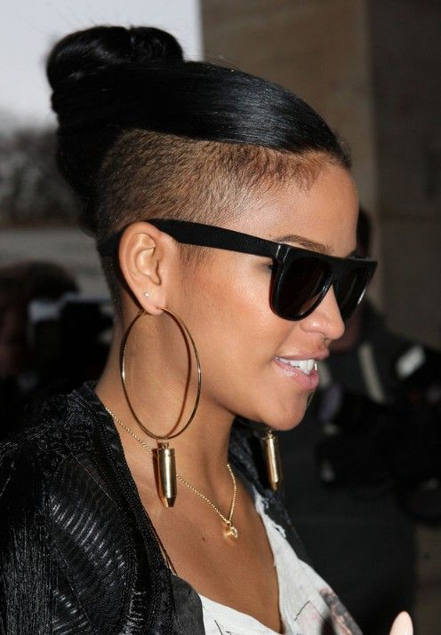 Pin On Cassie Cuts & Styles throughout Cassie Bun Mohawk Hairstyles