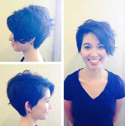 Pin On Cut It Short! throughout Asymmetrical Pixie Haircuts