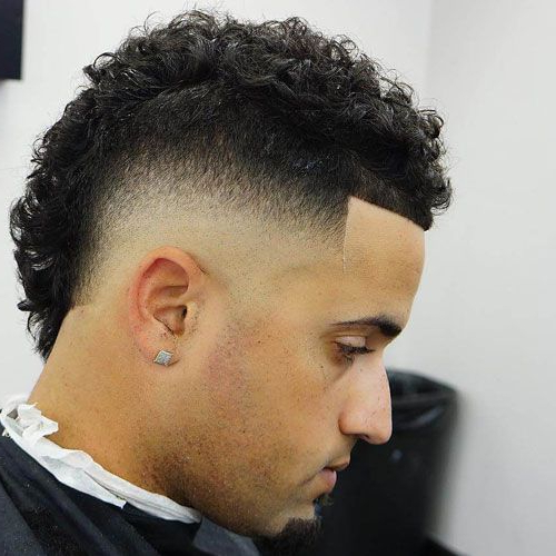 Pin On Fade Haircuts throughout Sharp And Clean Curly Mohawk Haircuts