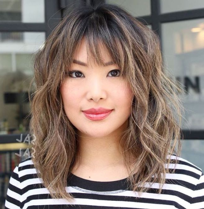 Featured Photo of Modern Shaggy Asian Hairstyles