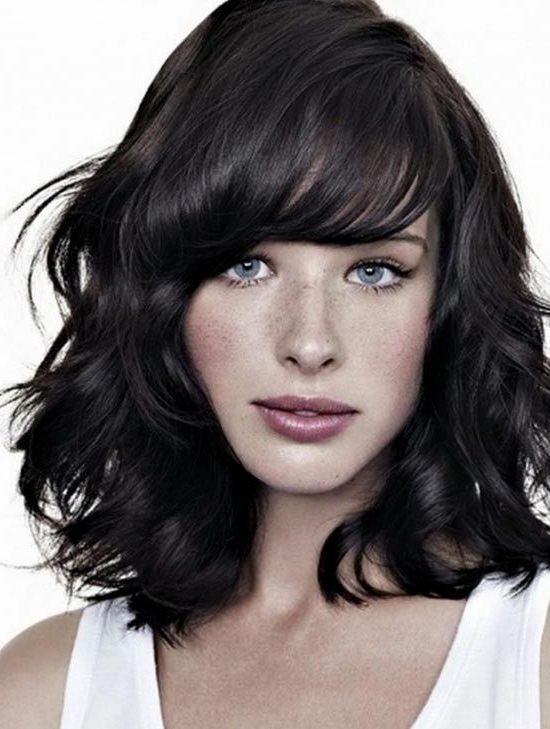 Pin On Hair & Beauty with Soft And Casual Curls Hairstyles With Front Fringes