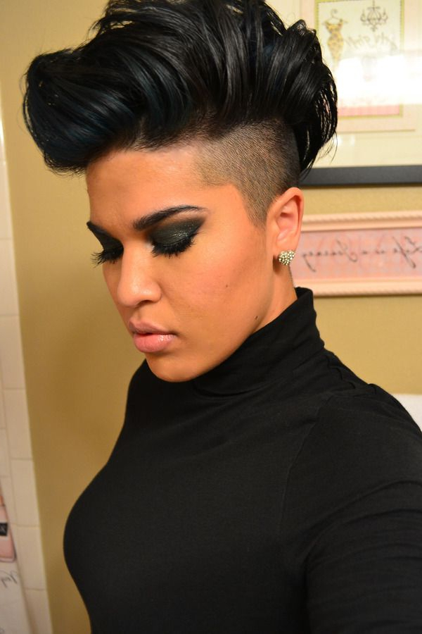 Pin On Hair Envy throughout Shaved Short Hair Mohawk Hairstyles