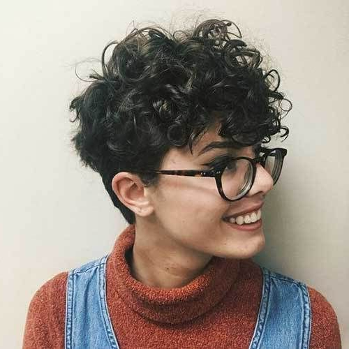 Pin On Hair Ideas. with regard to Cute Curly Pixie Hairstyles