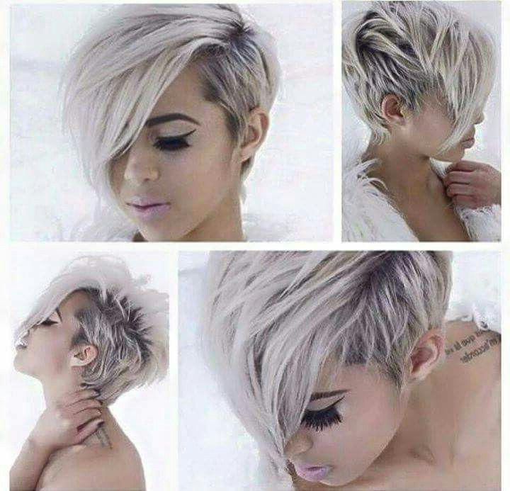 Pin On Hair pertaining to Highlighted Pixie Hairstyles